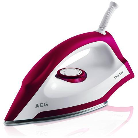AEG LB 1300 Ferro da Stiro a Vapore Potenza 1300 Watt Colore Rosso / Bianco