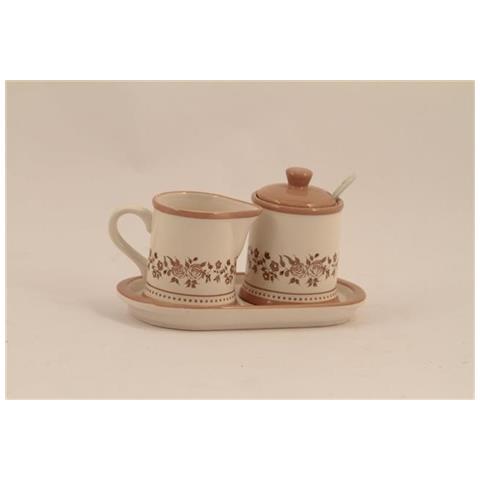 Zuccheriera E Lattiera Ceramica Fio Mar