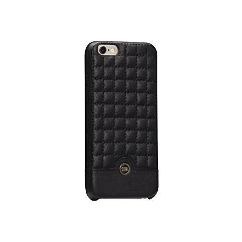 SENA Cases Isa Quilted Snap On iPhone 6 / 6s nero