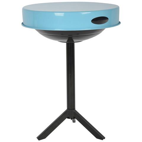 Griglia Da Tavolo A Carbonella Acciaio Blu Ff251
