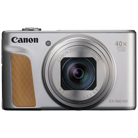 Fotocamera Digitale SX740 HS 20.3 Mpx Zoom Ottico 40x Display 3'' Colore Argento