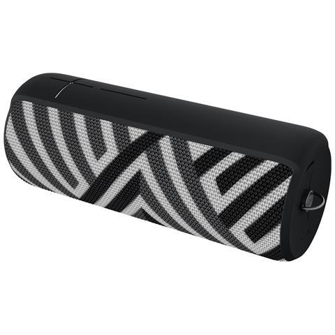 Megaboom Mono portable speaker Nero, Bianco