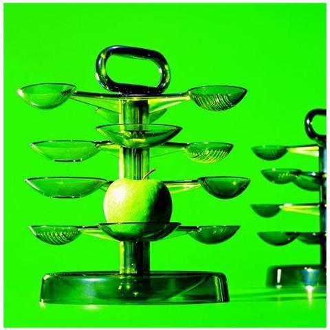 confalonieri Vassoi Portafrutta, Carrelli Portafrutta, Portafrutta Design Verde