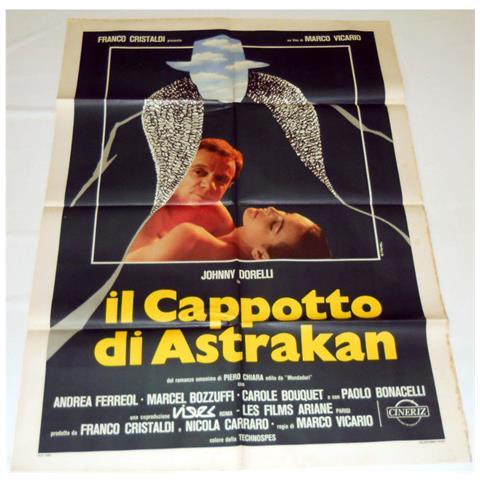 Vendilosubito Manifesto Originale Del Film Il Cappotto Di Astrakan