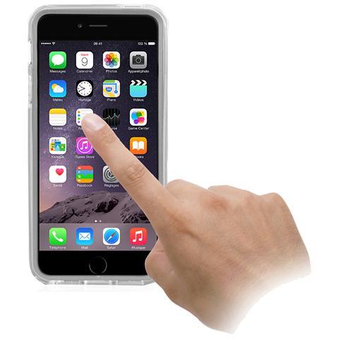 SBS Cover In Tpu Con Proteggi Schermo Trasparente Per Comandi Touch, Trasparente Per Iphone 6 Plus