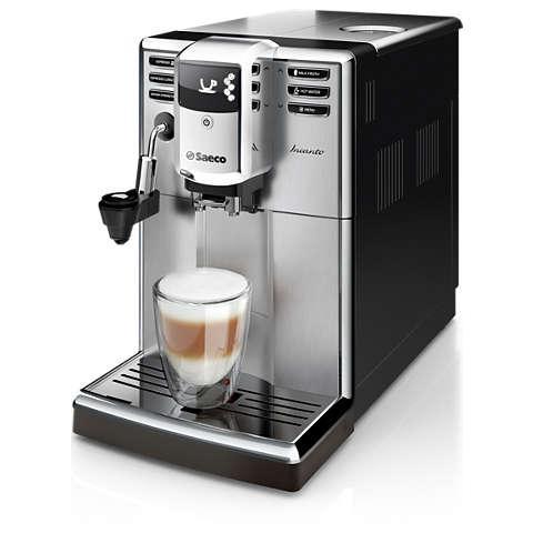 HD8914 Macchina da Caffè Espresso Super Automatica Incanto Caffè Macinato