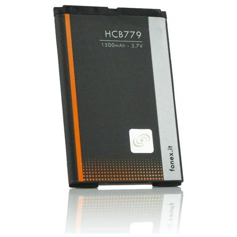 FONEX Batteria Li-Ion High Capacity 1500 mAh per Blackberry 9000/9700