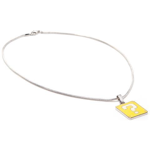 BIOWORLD Nintendo: Question Mark Box Necklace Pendant Necklaces U Multicolor