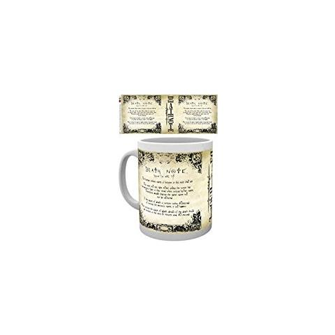 Tazza Death Note Mug Rules