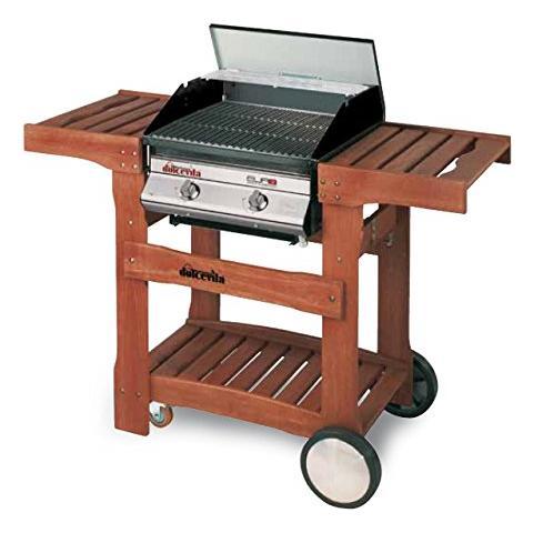 Barbecue A Gas Due Fuochi Con Valvola Di Sicurezza