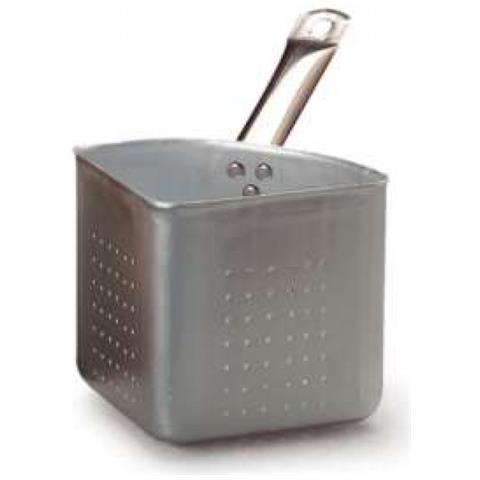 Colapasta A Spicchio In Alluminio Con Manico In Acciaio Inox (1/4)