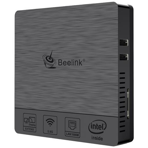 Image of Bt3pro Mini Pc Windows 10 Computer Desktop 4 Gb Di Ram 64 Gb Ssd Full Hd H. 265 Processore Intel Atom X5-z8350 / 4k / 1000 Mbps Lan / Hdmi / Vga / 2.4g + 5.8g Dual Wifi