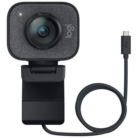 Webcam STREAMCAM per Streaming Live e Creazione Contenuti in Full HD 1080p / 60 fps USB-C...
