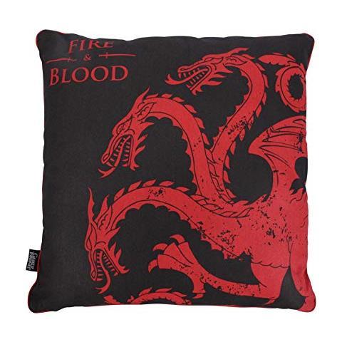 HALF MOON BAY Cuscino Imbottito Game Of Thrones - Targaryen
