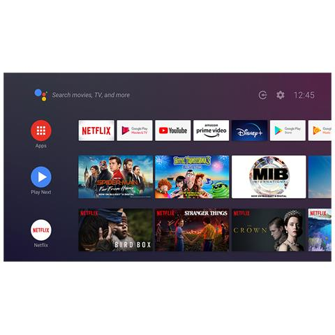 """SONY - TV OLED Ultra HD 4K 65"""" KD65A8BAEP Android TV Argento - ePRICE"""