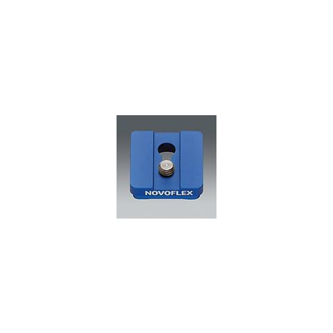 Piastra a Sgancio 4.2 x 4.2 x 1.3 cm Blu Q= PLATE PL 1 3/8-EU