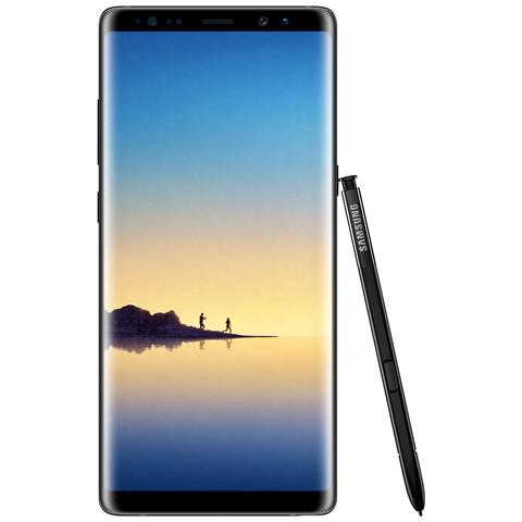 "SAMSUNG Galaxy Note 8 Nero 64 GB 4G / LTE Dual Sim Impermeabile Display 6.3"" Quad HD Slot Micro SD Fotocamera 12 Mpx Android Europa"