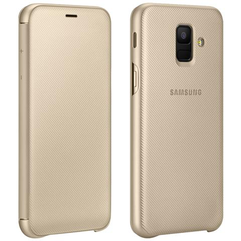 SAMSUNG WALLET COVER GALAXY A6+ GOLD