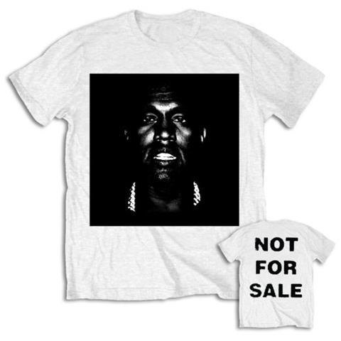 ROCK OFF Kanye West - Not For Sale (T-Shirt Unisex Tg. S)