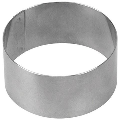 Coppapasta Tondo In Acciaio Inox Cm 4.5 H - Cm 10x4,5h