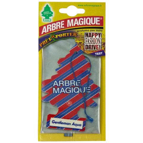 Arbre Magique Deodorante Gentleman Aqua - Articoli Per Auto