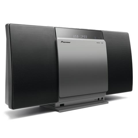PIONEER Sistema Micro Hi-Fi X-SMC01BT Lettore CD Supporto MP3 / WMA Potenza 20 Watt Bluetooth una porta USB compatibile Apple