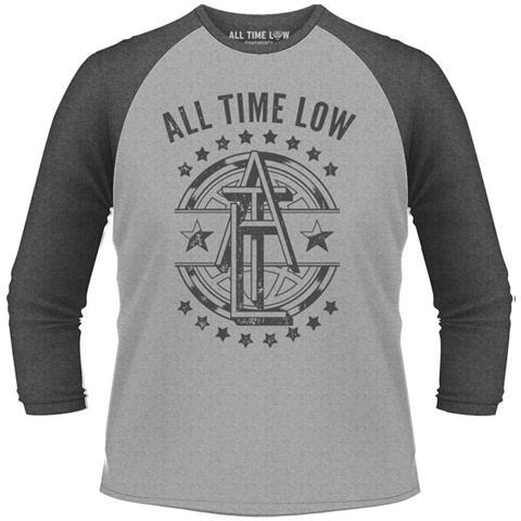 PHM All Time Low - Emblem (T-Shirt Unisex Manica 3/4 Tg. 2XL)