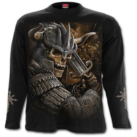 SPIRAL Viking Warrior Black (Maglia Manica Lunga Unisex Tg. Xl)