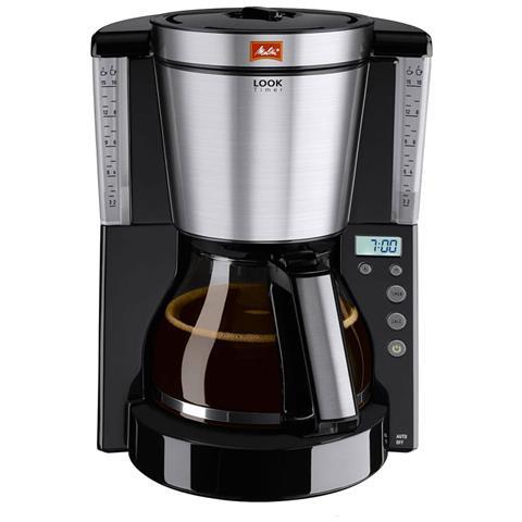 Meitta programmabile e caffè sguardo Iv Timer nero spazzolato 1000w 10 Coppe 1011-1002