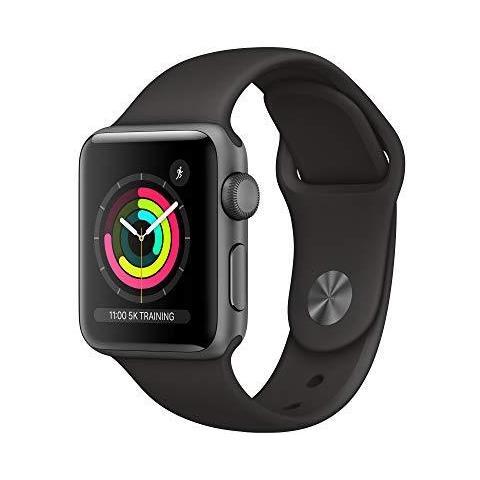 Apple Watch Serie 3 (gps 38 mm) Alluminio Grigio Spazio Nero Sport