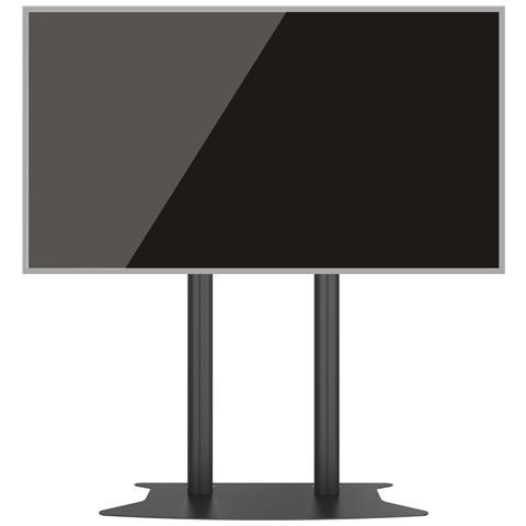 """MULTIBRACKETS 7376 110"""" Portable flat panel floor stand Nero base da pavimento per tv a schermo piatto"""