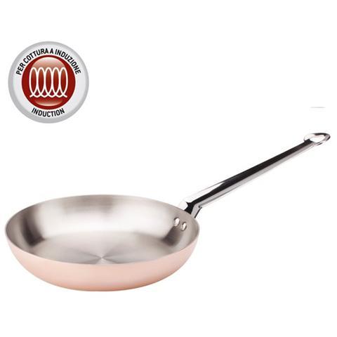 Padella 1 Manico Diametro 32 cm - Linea Copper3 Induzione