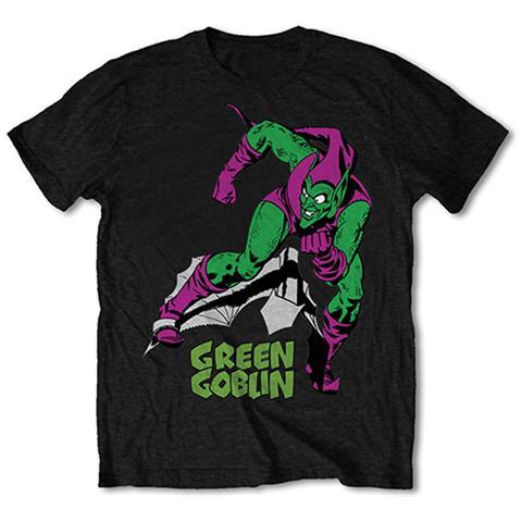 ROCK OFF Marvel Comics - Green Goblin Black (T-Shirt Unisex Tg. L)