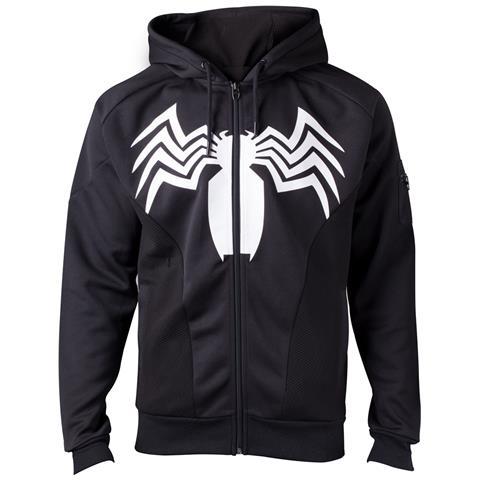 BIOWORLD Spiderman - Venom Black (Felpa Con Cappuccio Unisex Tg. M)