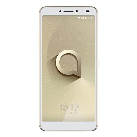 "ALCATEL 3V Oro 16 GB 4G / LTE Dual Sim Display 6"" Full HD Slot Micro SD Fotocamera 12 Mpx Android Italia"