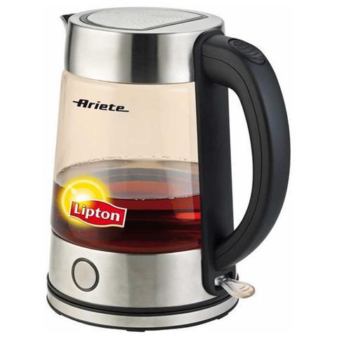 Bollitore Tea Maker Lipton Cordless Capacità 1,7 Lt Potenza 2200 Watt Colore Inox