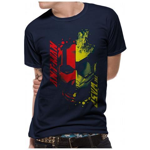 CID Antman And The Wasp - Head Splat (T-Shirt Unisex Tg. 2Xl)