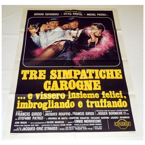 Vendilosubito Manifesto Originale Del Film Tre Simpatiche Carogne