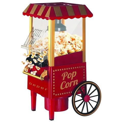 Macchina Per Popcorn A Carrello Cottura Senza Olio Elettrica 1200w