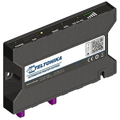 RUT850 Banda singola (2.4 GHz) 3G 4G Nero router wireless