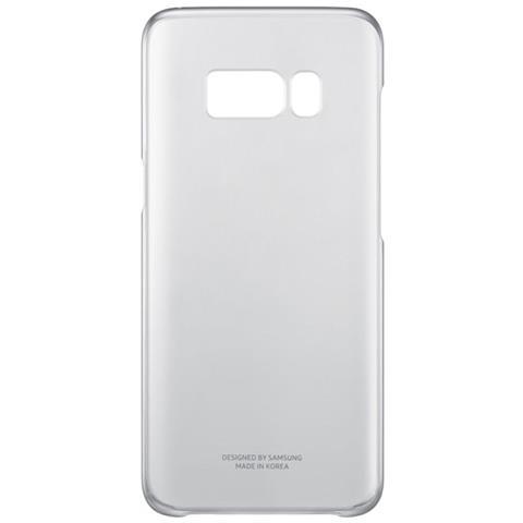 SAMSUNG Cover Trasparente per Samsung Galaxy S8 Colore Nero