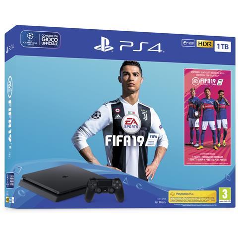 Image of Console Playstation 4 1 TB F + FIFA 19
