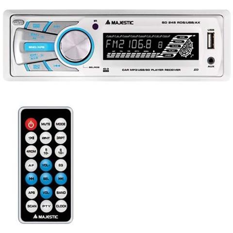 NEW MAJESTIC SD-245, MP3, FM, PLL, Bianco, SD