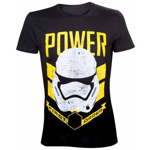 BIOWORLD Star Wars - Storm Trooper Power (T-Shirt Unisex Tg. M)