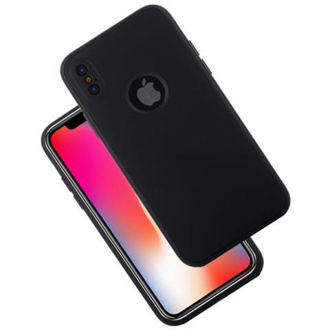 MECAWEB Custodia Tpu Silicone Morbido Per Smartphone Apple  Iphone X