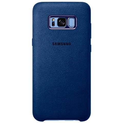 SAMSUNG Alcantara Cover per Galaxy S8 - Blu