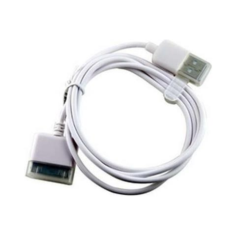 NetworkShop Cavo Dati Usb Qualita Top Bianco Per Iphone 4s / 4 / 3gs / 3g / Ipad / Ipod