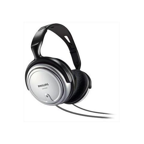 PHILIPS SHP2500 Cuffia per Tv e Hi-fi - Nero / Grigio