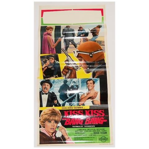 Vendilosubito Locandina Originale Del Film Kiss Kiss Bang Bang !! Raro !!