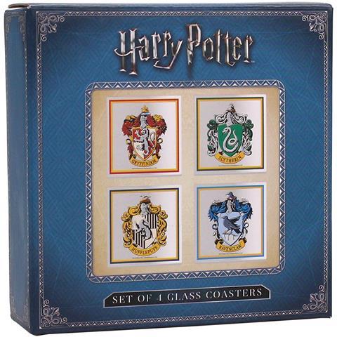 Harry Potter: All Houses (set 4 Sottobicchieri)